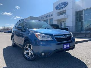 Used 2015 Subaru Forester 2.5i Touring Package for sale in St Thomas, ON