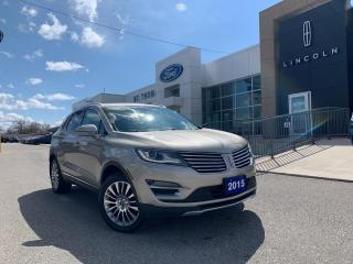 Used 2015 Lincoln MKC Reserve AWD/Leather/Roof/Navi for sale in St Thomas, ON