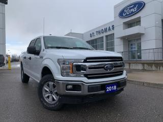 Used 2018 Ford F-150 XLT 4x4/Rear View Camera/Bluetooth for sale in St Thomas, ON