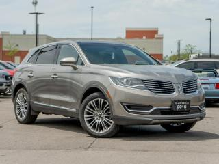 Used 2016 Lincoln MKX Reserve for sale in Hamilton, ON