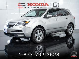Used 2010 Acura MDX CUIR + TOIT + AWD + PROPRE + WOW! for sale in St-Basile-le-Grand, QC