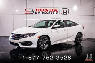 Used 2016 Honda Civic EX-T + TOIT + CAMERA + WOW! for sale in St-Basile-le-Grand, QC