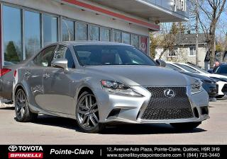 Used 2016 Lexus IS 350 F-SPORT SERIES 2 TOIT, MAGS, CAMÉRA DE RECUL for sale in Pointe-Claire, QC