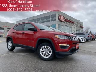 Used 2018 Jeep Compass Sport Machined Rotors | Service Brakes | Re-Alignment | Low KM for sale in Hamilton, ON