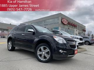 Used 2015 Chevrolet Equinox LTZ Sunroof | Leather seats | Heated seats | Bluetooth for sale in Hamilton, ON