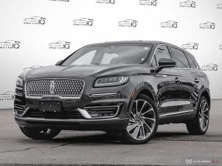 Used 2019 Lincoln Nautilus Reserve | Awd | Fully Loaded | Low Kms! for sale in Oakville, ON
