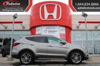 Used 2018 Hyundai Santa Fe Sport Ultimate Tech Pkg-TURBOCHARGED, ALL WHEEL DRIVE, NAVIGATION for sale in Sudbury, ON