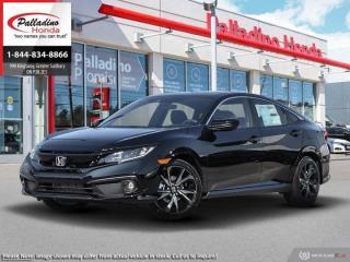 New 2020 Honda Civic Sedan Sport for sale in Sudbury, ON