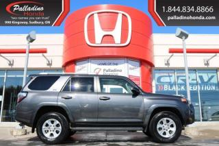 Used 2017 Toyota 4Runner SR5- THIRD ROW SEATS, NAVIGATION, for sale in Sudbury, ON