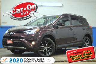 Used 2017 Toyota RAV4 SE AWD LEATHER NAV SUNROOF 40,000 KM LOADED for sale in Ottawa, ON