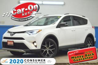 Used 2016 Toyota RAV4 SE AWD 65,000 KM LEATHER NAV SUNROOF REAR CAM HTD for sale in Ottawa, ON