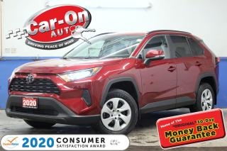 Used 2020 Toyota RAV4 LE AWD REAR CAM ADAPTIVE CRUISE HTD SEATS LOADED for sale in Ottawa, ON
