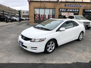 Used 2011 Honda Civic COUPE 2dr Auto SE-CLEAN CARFAX-SUNROOF for sale in North York, ON