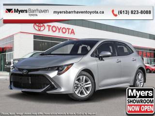 New 2020 Toyota Corolla Hatchback SE  - Navigation - $166 B/W for sale in Ottawa, ON