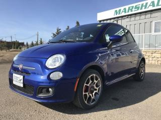 Used 2013 Fiat 500 2dr HB Sport *Sport Mode* *Summer/Winter Tire Sets for sale in Brandon, MB