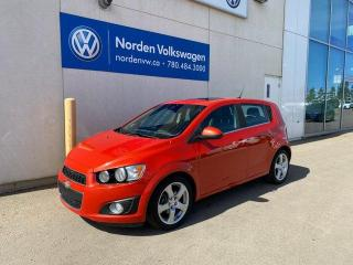 Used 2012 Chevrolet Sonic LT AUTO / SUNROOF / PWR PKG for sale in Edmonton, AB