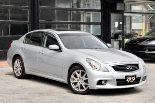 Used 2013 Infiniti G37 X for sale in Toronto, ON