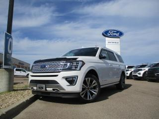 New 2020 Ford Expedition Platinum Max for sale in Drayton Valley, AB