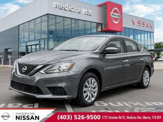Used 2019 Nissan Sentra S for sale in Medicine Hat, AB