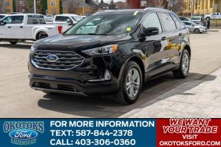 Used 2019 Ford Edge SEL AWD, 2.0L I4 Ecoboost Engine, Navigation, Fordpass Connect, Adaptive Cruise for sale in Okotoks, AB