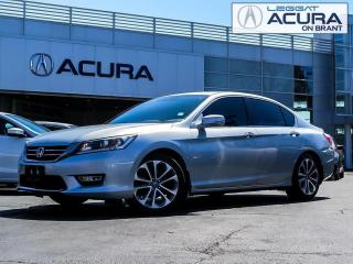 Used 2013 Honda Accord Sport SPORT | NEWTIRES | TINT | BACKUPCAM | NOACCIDENTS for sale in Burlington, ON