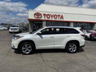 Used 2015 Toyota Highlander LIMITED  for sale in Cambridge, ON