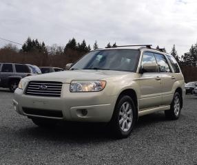 Used 2007 Subaru Forester XS PREMIUM for sale in Black Creek, BC