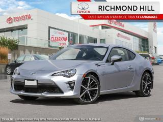 New 2020 Toyota 86 GT  - Apple CarPlay -  Android Auto - $130.89 /Wk for sale in Richmond Hill, ON
