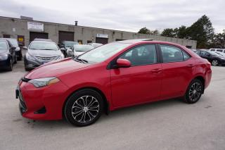 Used 2017 Toyota Corolla LE CAMERA CERTIFIED 2YR WARRANTY SUNROOF LANE CHANGE HEATED STEERING & SEATS BLUETOOTH for sale in Milton, ON