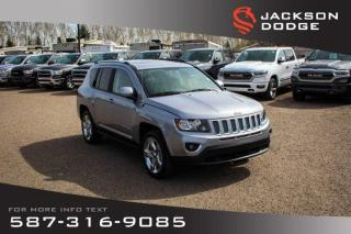 Used 2017 Jeep Compass High Altitude Edition - NAV, Leather, Sunroof for sale in Medicine Hat, AB