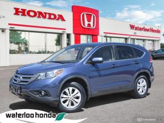 Used 2012 Honda CR-V Sold Pending Customer Delivery! Accident Free, One Owner CR-V EX-L! Loaded! for sale in Waterloo, ON