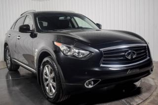 Used 2014 Infiniti QX70 PREMIUM AWD CUIR TOIT MAGS NAV for sale in Île-Perrot, QC
