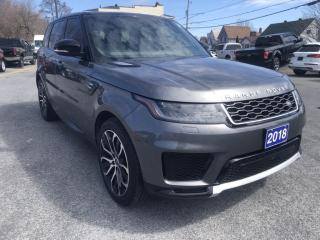 Used 2018 Land Rover Range Rover SPORT HSE for sale in Cornwall, ON