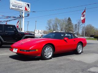 Used 1993 Chevrolet Corvette 6speed stick Fantastic Condition for sale in Welland, ON