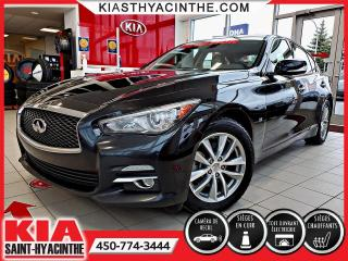 Used 2014 Infiniti Q50 PREMIUM AWD ** TOIT OUVRANT / CUIR for sale in St-Hyacinthe, QC