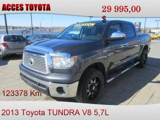 Used 2013 Toyota Tundra 4x4 Crewmax Platinum for sale in Rouyn-Noranda, QC