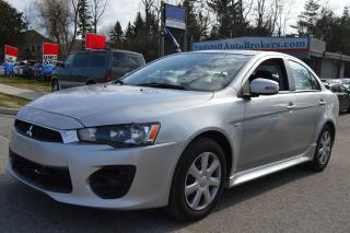 Used 2016 Mitsubishi Lancer ES for sale in Richmond Hill, ON