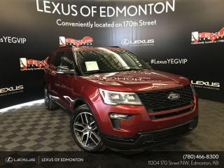 Used 2018 Ford Explorer Sport - One Owner/Accident Free for sale in Edmonton, AB