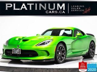 Used 2014 Dodge SRT Viper,GTS,640HP, V10,STRYKER GREEN EDITION,NAVI,CAM,BREMBO BRAKES for sale in Toronto, ON