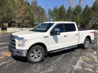 Used 2016 Ford F-150 Lariat Crew 4WD for sale in Cayuga, ON