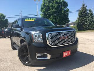 Used 2017 GMC Yukon Denali for sale in Grimsby, ON