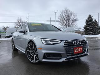 Used 2017 Audi A4 2.0T Technik for sale in Grimsby, ON