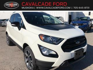 New 2020 Ford EcoSport SES for sale in Bracebridge, ON