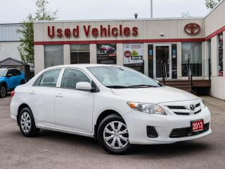 Used 2013 Toyota Corolla 4dr Sdn Auto CE | ONE OWNER for sale in North York, ON
