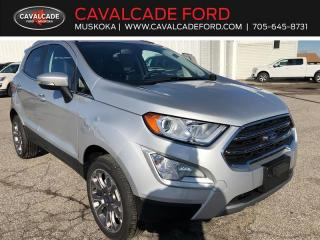 New 2020 Ford EcoSport Titanium for sale in Bracebridge, ON