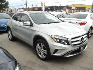 Used 2017 Mercedes-Benz GLA GLA 250 NAVIGATION,PANORAMIC ROOF,CAMERA for sale in Oakville, ON