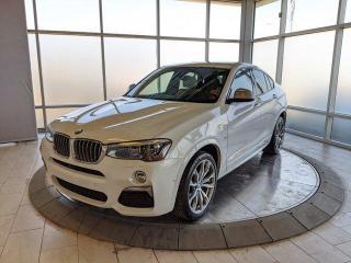 Used 2018 BMW X4 M40i - One Owner! Two Sets of Rims and Tires! for sale in Edmonton, AB