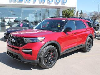 New 2020 Ford Explorer ST 400A | 3.0L Ecoboost | Twin Panel Moonroof | Premium Technology PKG | ST Street Pack | Performance Brakes for sale in Edmonton, AB