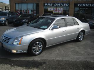 Used 2009 Cadillac DTS NORTHSTAR 4.6L V8 275HP NAVIGATION SUNROOF for sale in North York, ON