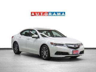 Used 2016 Acura TLX Tech Nav Leather Sunroof Backup Cam for sale in Toronto, ON